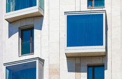 Modern residential  building Stock Photography