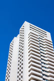 Modern residential building on  blue sky Stock Image