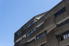 Modern residential building facade Royalty Free Stock Photo