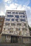 Modern residential building in famour Sablon area of Brussels downtowm Stock Photography
