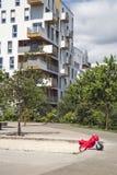Modern residential building stock photos