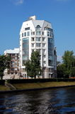 Modern residential building. In St. Petersburg Royalty Free Stock Photography