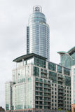 Modern residential buildings in the city Royalty Free Stock Photo