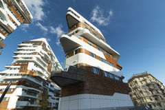 Modern residential buildings in Milan Stock Image