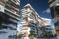 Modern residential buildings in Milan Royalty Free Stock Photo