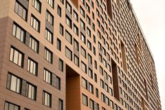Modern residential complex. Royalty Free Stock Images