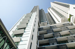 Modern residential condominium Stock Photo
