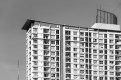 Modern residential condominium building at Ploenchit Sukhumvit road Bangkok Thailand royalty free stock photos