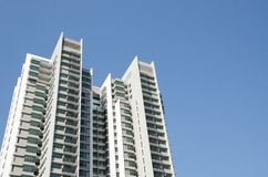 Modern residential condominium Stock Photos