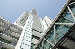 Modern residential condominium Stock Images