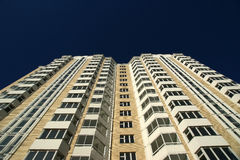 Modern residential high rise building Stock Photo