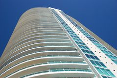 Modern residential highrise Stock Image
