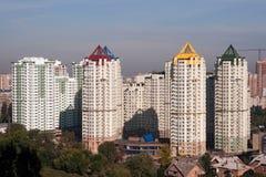 Modern residential houses Stock Photos