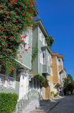 Modern residential houses. In the center of Istanbul, Turkey royalty free stock photography