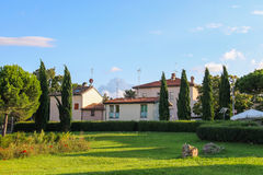 Modern residential houses in Rimini. Italy Royalty Free Stock Photography