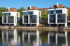 Modern residential houses Royalty Free Stock Photography