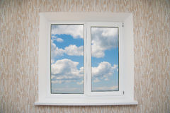 Modern residential window Stock Images