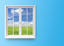 Modern residential window Stock Image