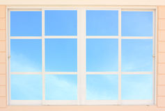 Modern residential window Stock Photography