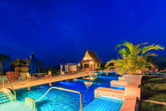 Modern resort Royalty Free Stock Images