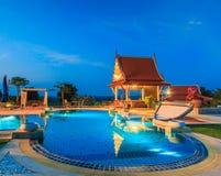 Modern resort Stock Photos