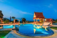 Modern resort Stock Photography