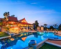 Modern resort Royalty Free Stock Photo