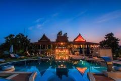 Modern resort Stock Image
