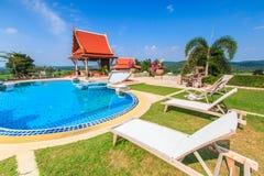 Modern resort Stock Photo