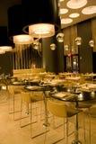 Modern restauranginre Royaltyfri Fotografi