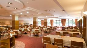 Modern Restaurant royalty free stock image