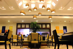 Modern restaurant royalty-vrije stock afbeelding