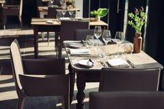 modern restaurant Στοκ Εικόνες