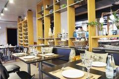 Modern restaurant Stock Photo