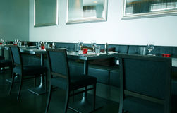 Modern Restaurant Interior Stock Photos