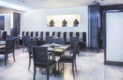 Modern restaurant royalty free stock photography