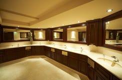 Modern restroom Stock Images
