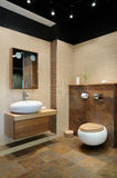 Modern restroom Stock Image