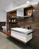Modern restroom Stock Photo