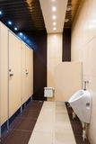 Modern restroom interior Royalty Free Stock Image