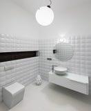 Modern restroom interior Stock Photo