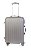 Modern resväska som isoleras på vit Arkivfoton