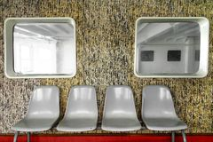 Modern retro binnenlands ontwerp royalty-vrije stock foto's