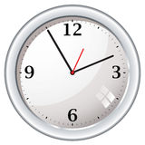 Modern retro wall clock Royalty Free Stock Photography