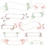 Modern ribbons Stock Photos