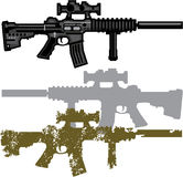 Modern Rifle Royalty Free Stock Photo
