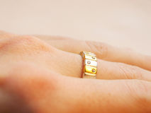 Modern Ring Royalty Free Stock Photos