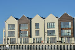 Free Modern Riverside Apartments Stock Photos - 28434823