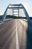 Modern road bridge Royalty Free Stock Photo