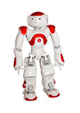 Modern robot toy isolated on white Royalty Free Stock Photos